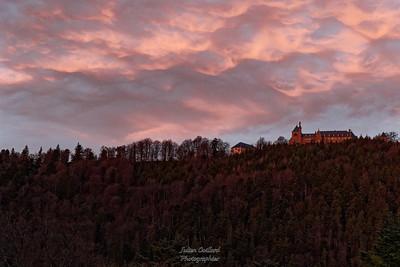 Mt Ste Odile  au lever du soleil