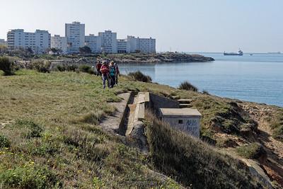 11,2 - Port de Bouc, Au dessus de la plage des Galets