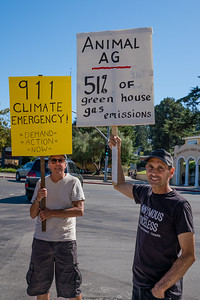 2019 Climate March - Mill Valley - Steve Disenhof-6143