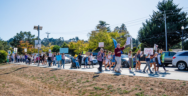 2019 Climate March - Mill Valley - Steve Disenhof-6244