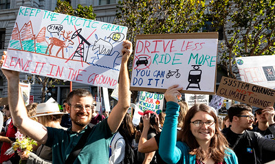 Climate Strike Protest SF 5 (Terry Scussel)