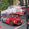 The Classic Tour open top Park Royal AEC Routemaster CUV203C RM2203 at Trafalgar Square, 04.09.2019.