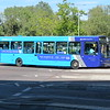 Arriva Sapphire 5/6 branded VDL Wright Pulsar MX12KXA 3671 at Bletchley bus station on the 4 to Central Milton Keynes, 13.09.2019.