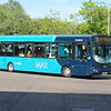 Arriva Max VDL Wright Pulsar YJ08DZG 3757 (visiting from Hemel Hempstead depot) at Bletchley bus station on the 5, 13.09.2019.
