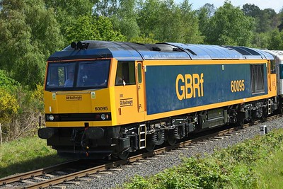 16 May 2019 :: A look at a Tug in GBRf livery in the form of 60095