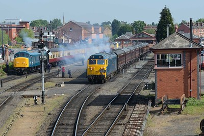16 May 2019 :: 50035 pulls away from Kidderminster with the 0955 to Bridgnorth