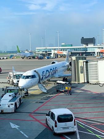 Ready to fly to Ljubljana