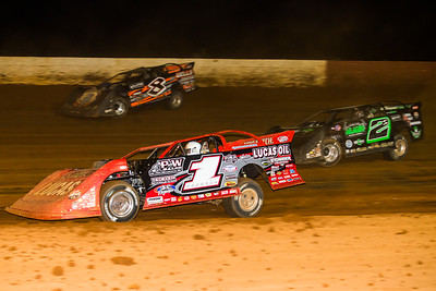 Earl Pearson, Jr. (1), Stormy Scott (2S) and Kyle Strickler (8)