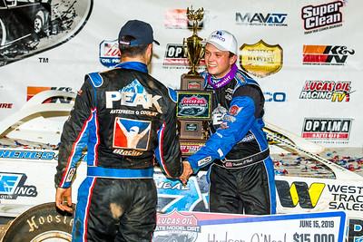 Josh Richards (L) and Hudson O'Neal (R)