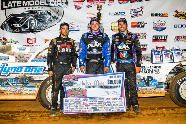 Ricky Weiss (L), Hudson O'Neal (C) and Josh Richards (R)