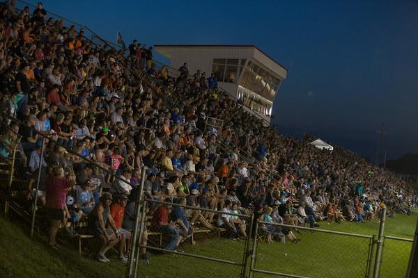 Smoky Mountain Speedway grandstands