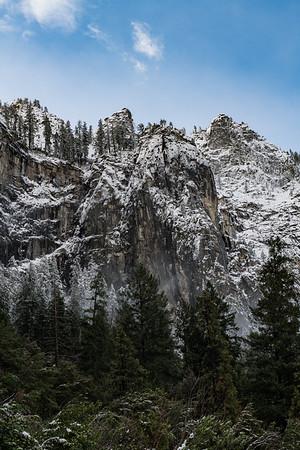 Snowy Yosemite