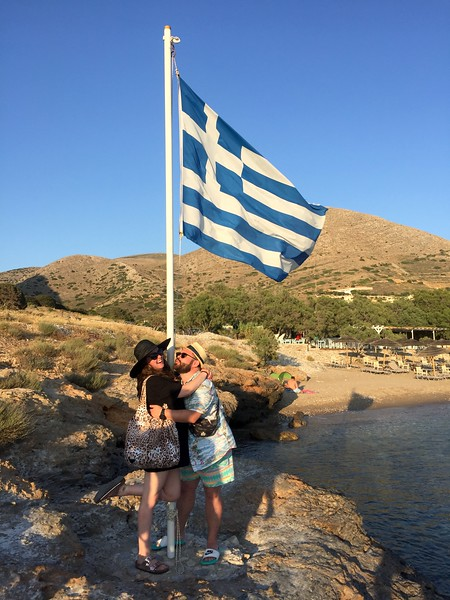 <b>Zoë and Tim</b> <br>Syros, GR <br>June 8, 2019