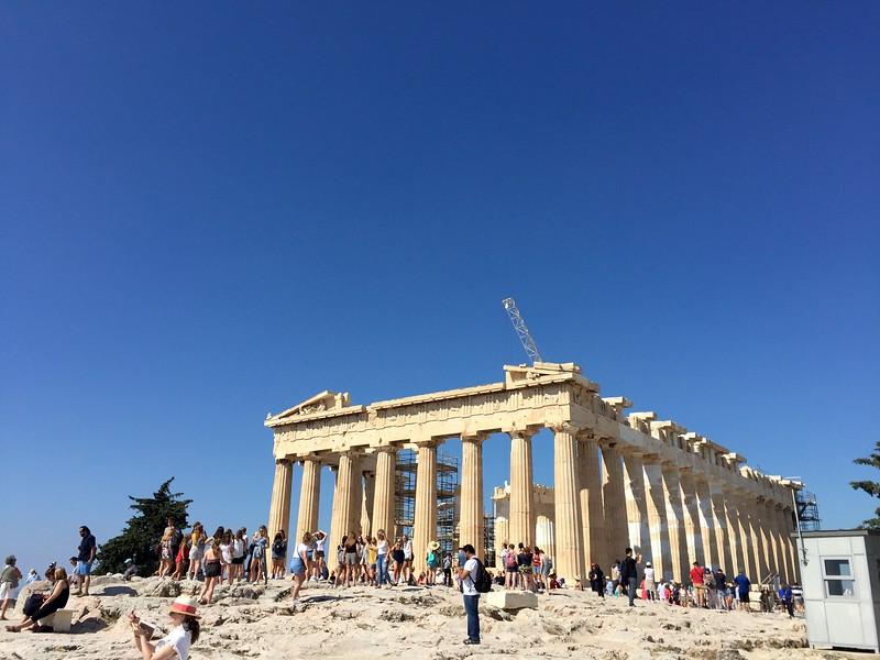 <b>Parthenon</b> <br>Athens, GR <br>June 4, 2019