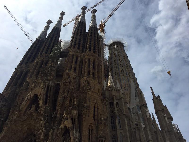 <b>Sagrada Família</b> <br>Barcelona, ES <br>May 29, 2019