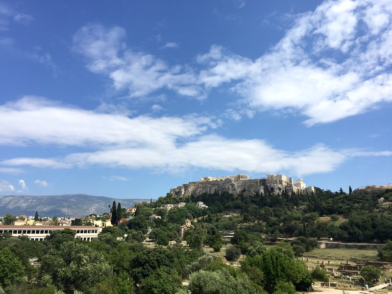 <b>Agora and Acropolis</b> <br>Athens, GR <br>June 4, 2019