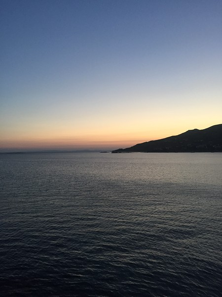 <b>Sunset</b> <br>Syros, GR <br>June 8, 2019