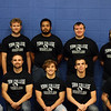 2018-19 Men's Wrestling Team: (1st row) DeAndre Neroes, Justin Dyer, Pierce Mederios, Harley Williamson, Tobias Wilkerson; (2nd row) Angel Alcantar, Noah Manly, Malique Trumbo, Cooper Wilkins, Justus Bjelland – not pictured Head Coach Greg Smith, Assistant Coach Jeff Albers, Assistant Coach Kevin Morrill
