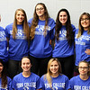2018-19 Women's Wrestling Team: (1st row) Rosa Vallejo Jauregui, Kylie Marlin, Claire Payne, Emily Fergeson; (2nd row) Charity Goldsmith-Ding, Katie Bell, Alexandra Stoyanov, Paige Gross, Marissa Patterson – not pictured Head Coach Jeff Albers, Associate Head Coach Greg Smith, Assistant Coach Kevin Morrill