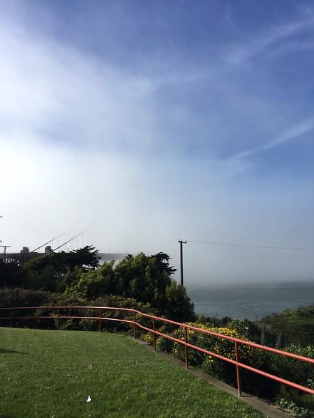 <b>Golden Gate Bridge</b> <br>San Francisco, CA <br>April 18, 2019