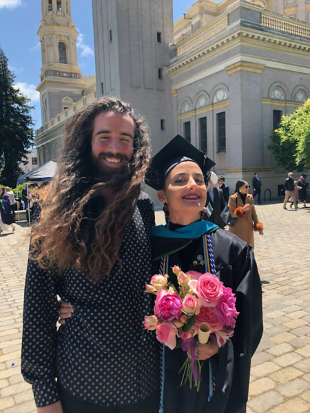 <b>Me and Natalie</b> <br>San Francisco, CA <br>May 17, 2019 <br>Photo by Johals