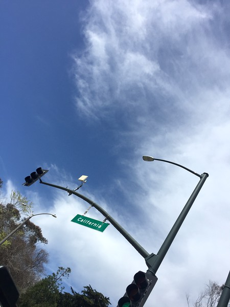 <b>California Ave.</b> <br>San Francisco, CA <br>April 13, 2019