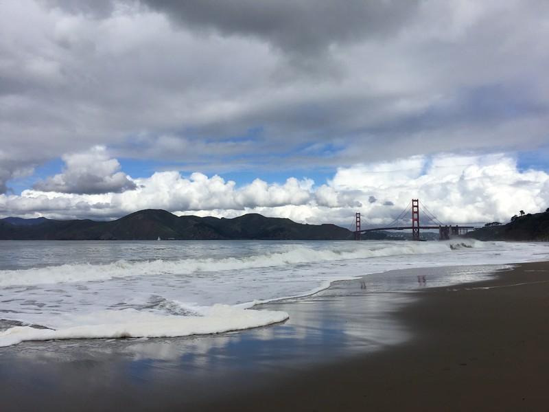 <b>Baker Beach</b> <br>San Francisco, CA <br>March 10, 2019