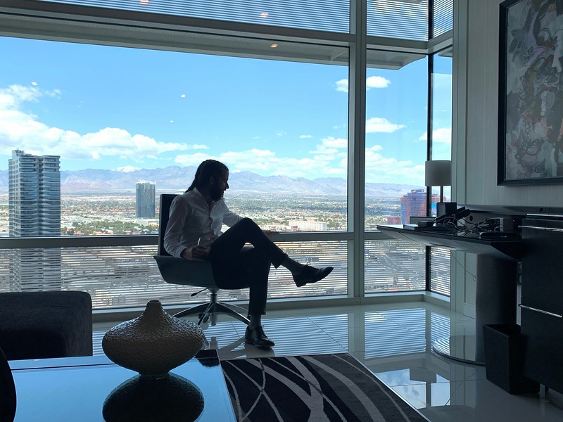 <b>ARIA</b> <br>Las Vegas, NV <br>May 8, 2019 <br>Photo by Radu Ranga