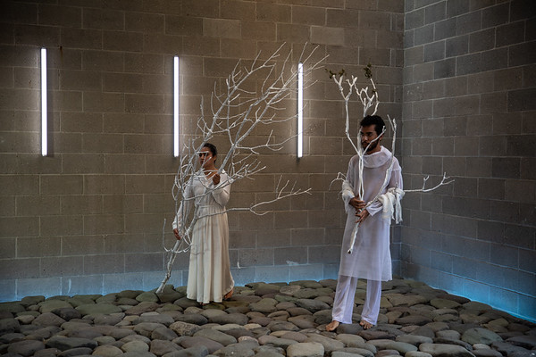 NAUFUS RAMíREZ-FIGUEROA, After Clearing the Internal Forests, Staging 1 (Performers: Matheus Macena Correia, Alejandra Mendez, Katimari Niskala, Jayson Pugh) @Maria Baranova