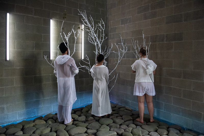 NAUFUS RAMíREZ-FIGUEROA, After Clearing the Internal Forests, Staging 1 (Performers: Matheus Macena Correia, Alejandra Mendez, Katimari Niskala, Jayson Pugh)  ©Laura Brichta