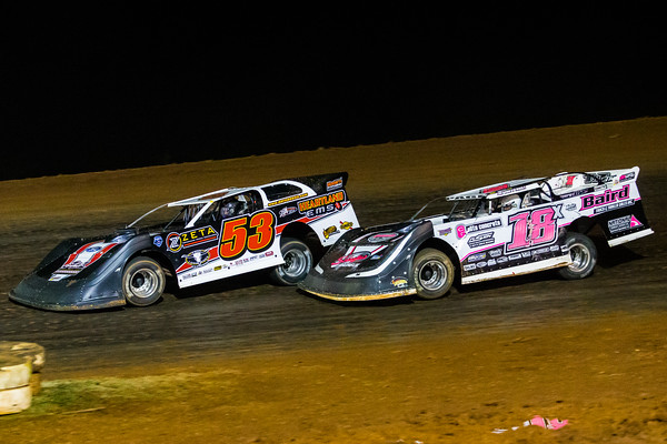 Ray Cook (53) and Michael Page (18X)