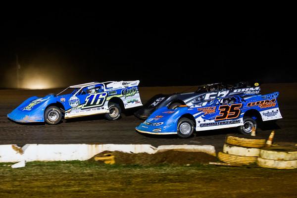 Austin Horton (16), Dallas Cooper (35) and Josh Adkins (57)