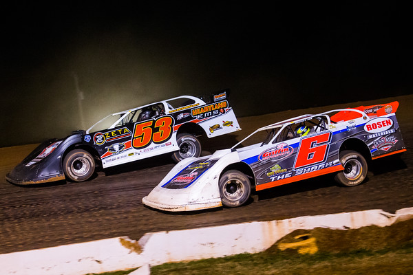 Ray Cook (53) and Clay Harris (6)