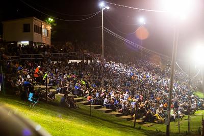 Tazewell Speedway crowd