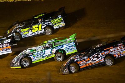 Mack McCarter (51), Tyler Erb (1) and Kyle Strickler (8)