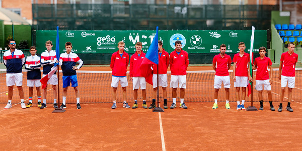 01.03a Finalists - Tennis Europe Summer Cups final boys 14 years and under 2019