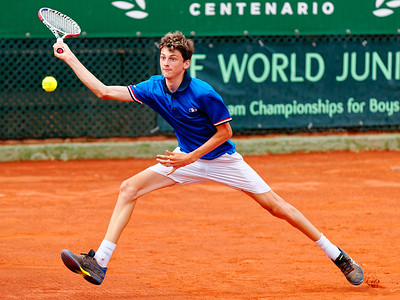 01.02b Antoine Ghibaudo - France - Tennis Europe Summer Cups final boys 14 years and under 2019