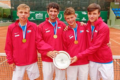 01.05 Winner - Czech Republic - Tennis Europe Summer Cups final boys 14 years and under 2019