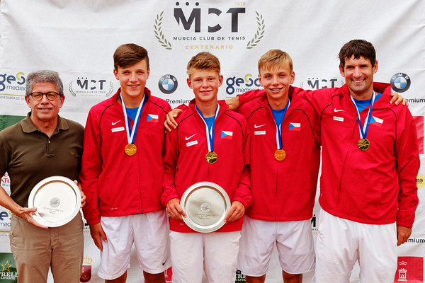 01.03d Winner - Czech Republic - Tennis Europe Summer Cups final boys 14 years and under 2019