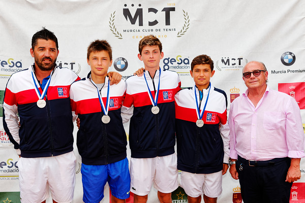 01.03c Finalist - France - Tennis Europe Summer Cups final boys 14 years and under 2019