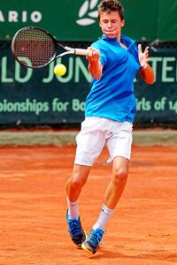 01.02d Gabriel Debru - France - Tennis Europe Summer Cups final boys 14 years and under 2019