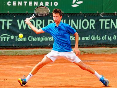 01.02e Gabriel Debru - France - Tennis Europe Summer Cups final boys 14 years and under 2019