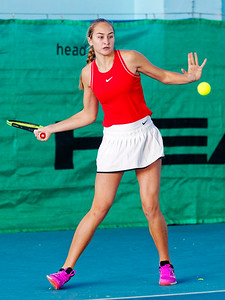 01.01a Yaroslava Bartashevich - Russia - Tennis Europe Winter Cups by HEAD final girls 14 years and under 2019