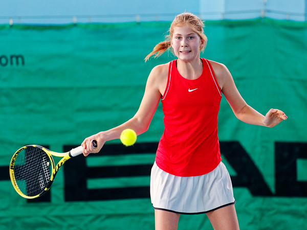 01.01e Anastasiia Gureva - Russia - Tennis Europe Winter Cups by HEAD final girls 14 years and under 2019