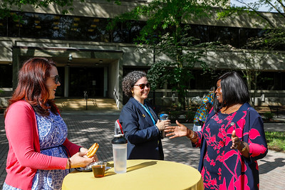 """Breakfast with the Provost for """"Thank a Professor Week,"""" Monday, May 6, 2019."""