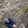"""Sam moves up on the second pitch of """"Toto"""" 5.7, an area classic."""