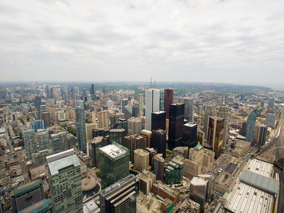 Toronto skyline from CN Tower