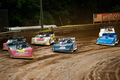 Tim McCreadie (39), Mike Marlar (157), Jared Hawkins (11), Billy Moyer, Jr. (21JR), Colten Burdette (44B) and Matt Cosner (66C)
