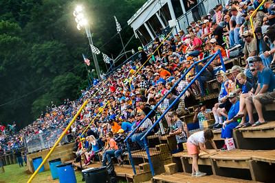 Tyler County Speedway grandstands