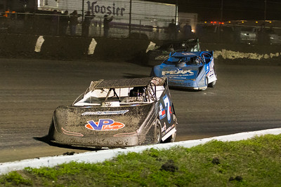 Kent Robinson (7R), Josh Richards (14) and Tyler Erb (111)